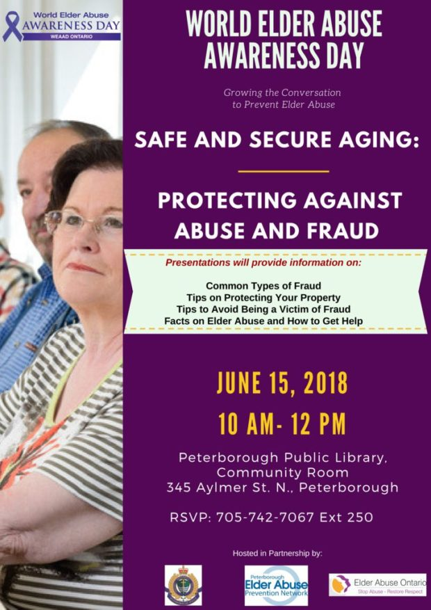 SAFE AND SECURE AGING: PROTECTING AGAINST ABUSE AND FRAUD