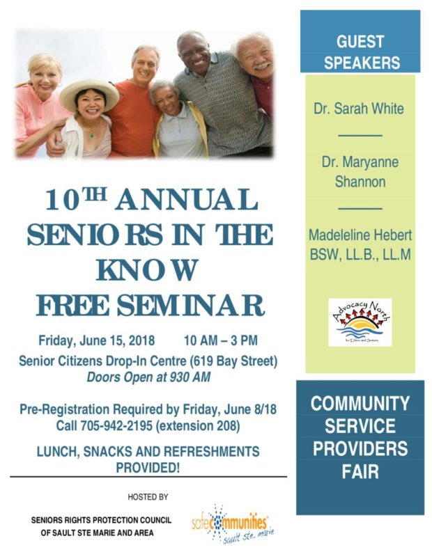 10TH ANNUAL SENIORS IN THE KNOW