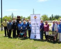 Springwater Township support WEAAD Flag Raising Ceremony